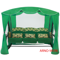 Садовые качели Arno Werk Оазис Люкс зеленый