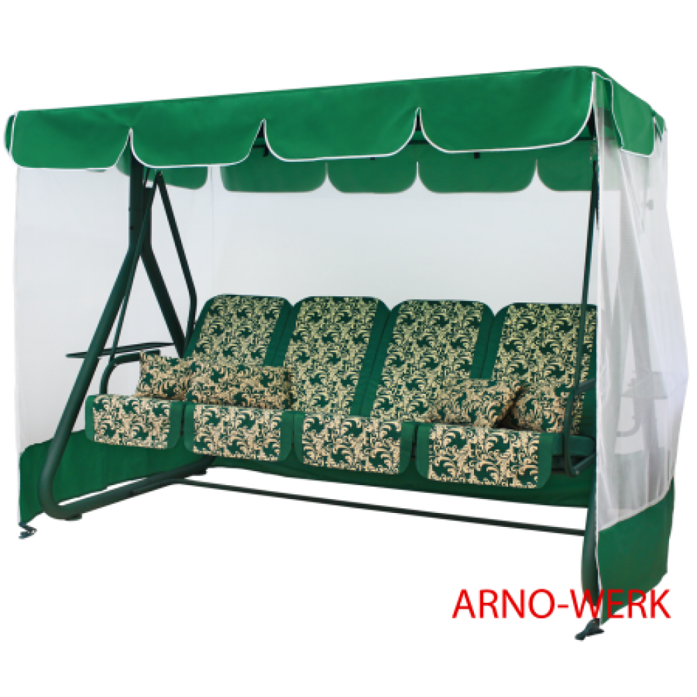 Садовые качели Arno Werk Дефа Люси зеленый