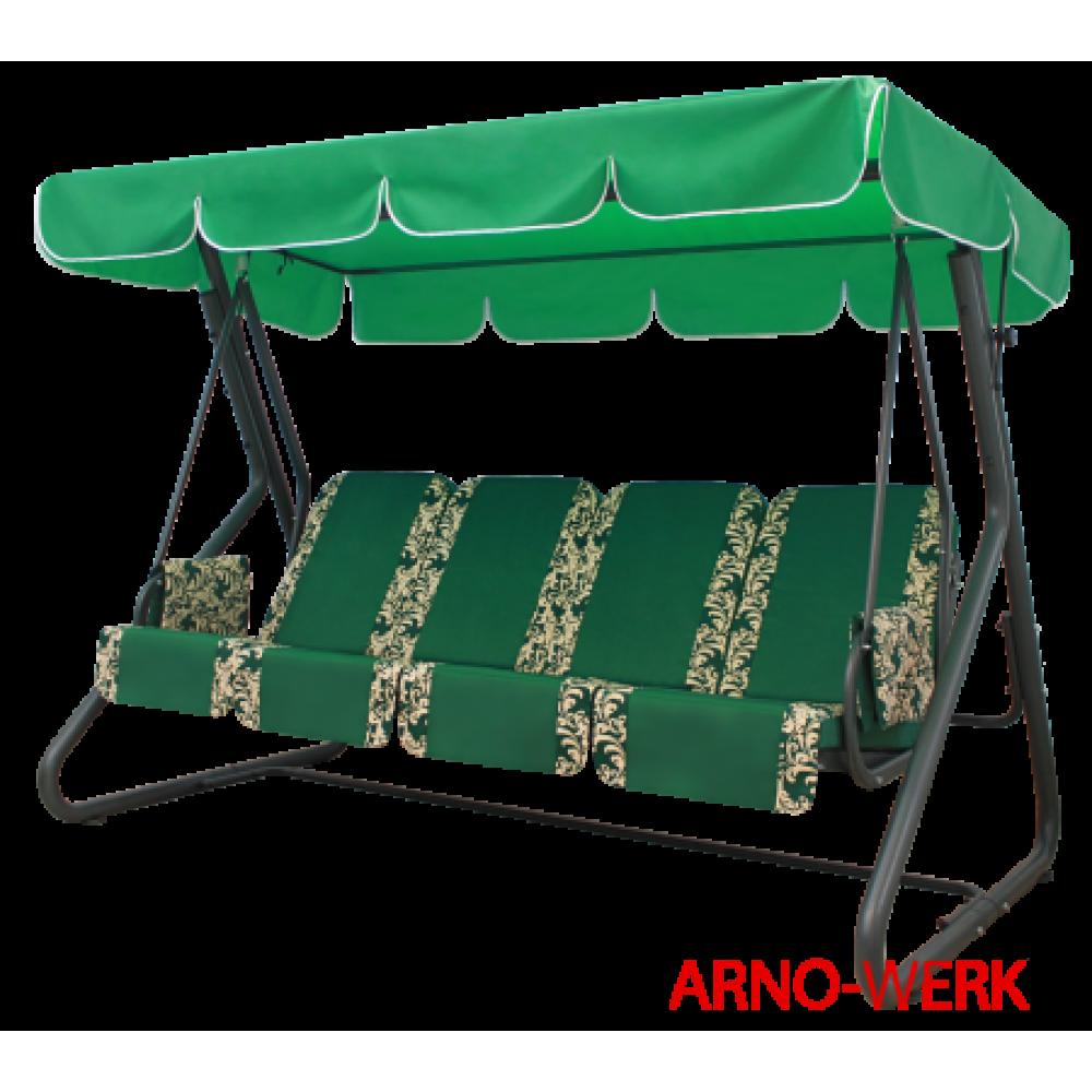 Садовые качели Arno Werk Оазис Стандарт Плюс зеленый