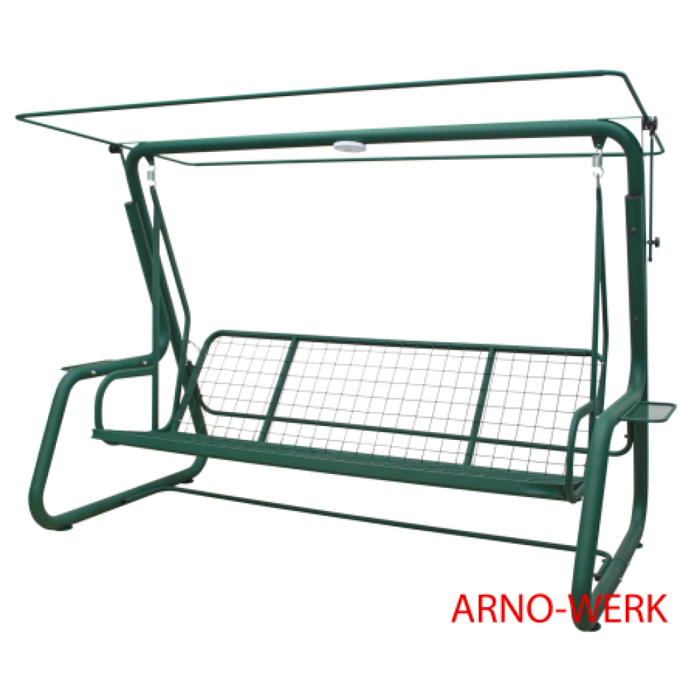 Садовые качели Arno Werk Элит Люкс+ зеленый