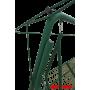 Садовые качели Arno Werk Эдем Премиум 76 зеленый