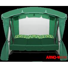 Садовые качели Arno Werk Рандеву Люкс зеленые