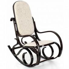 Кресло-качалка Calviano M196 вельвет (черный)