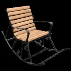 Кресло-качалка из дерева №2