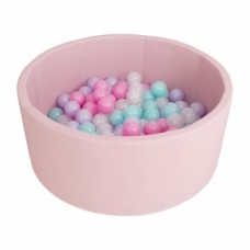 Сухой бассейн Романа Airpool ДМФ-МК-02.53.01 (розовый с розовыми шариками)