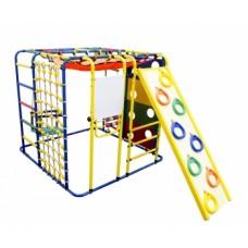 Спортивно-игровой комплекс Формула здоровья Кубик У Плюс синий/радуга