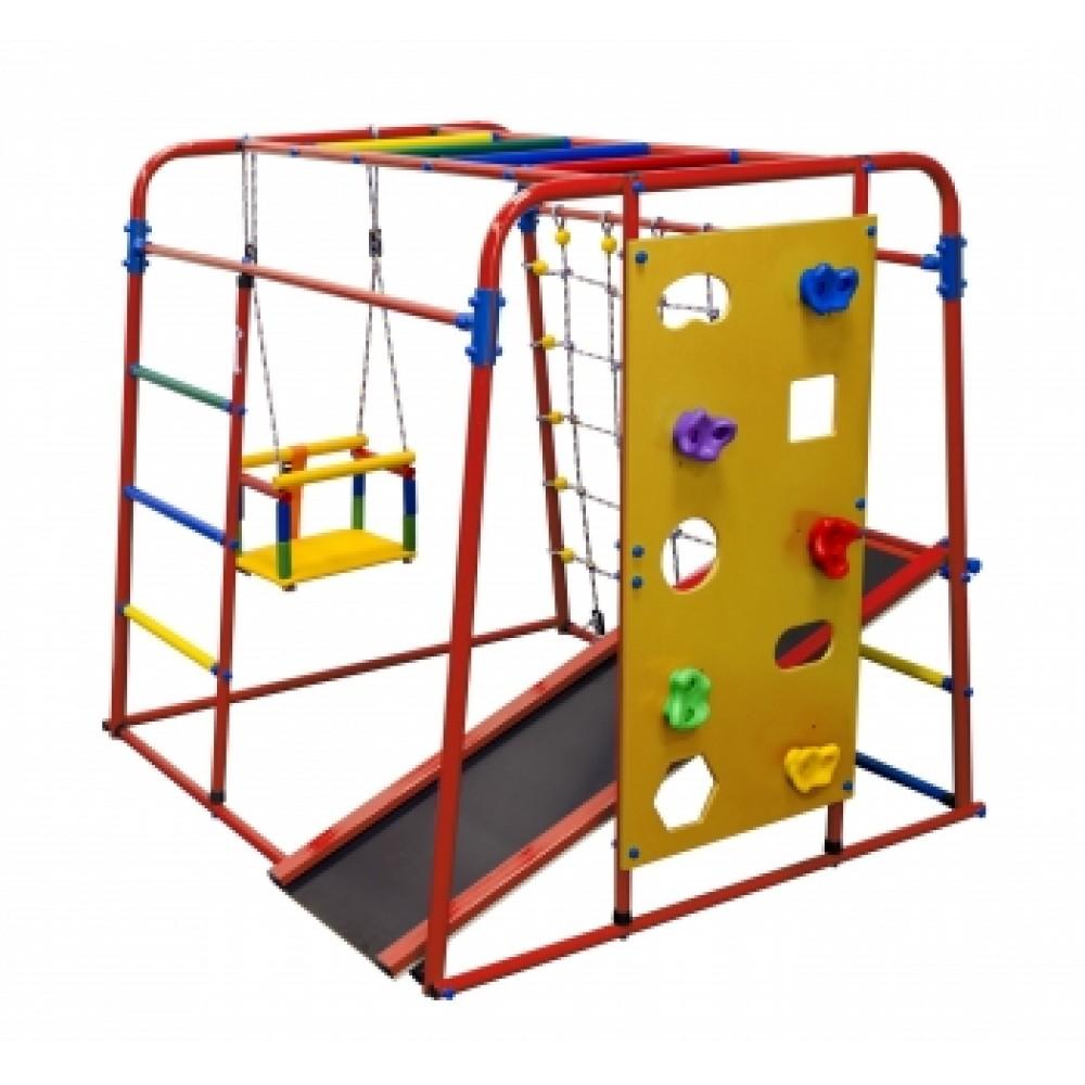 Спортивно-игровой комплекс Формула здоровья Start baby 2 плюс красный/радуга