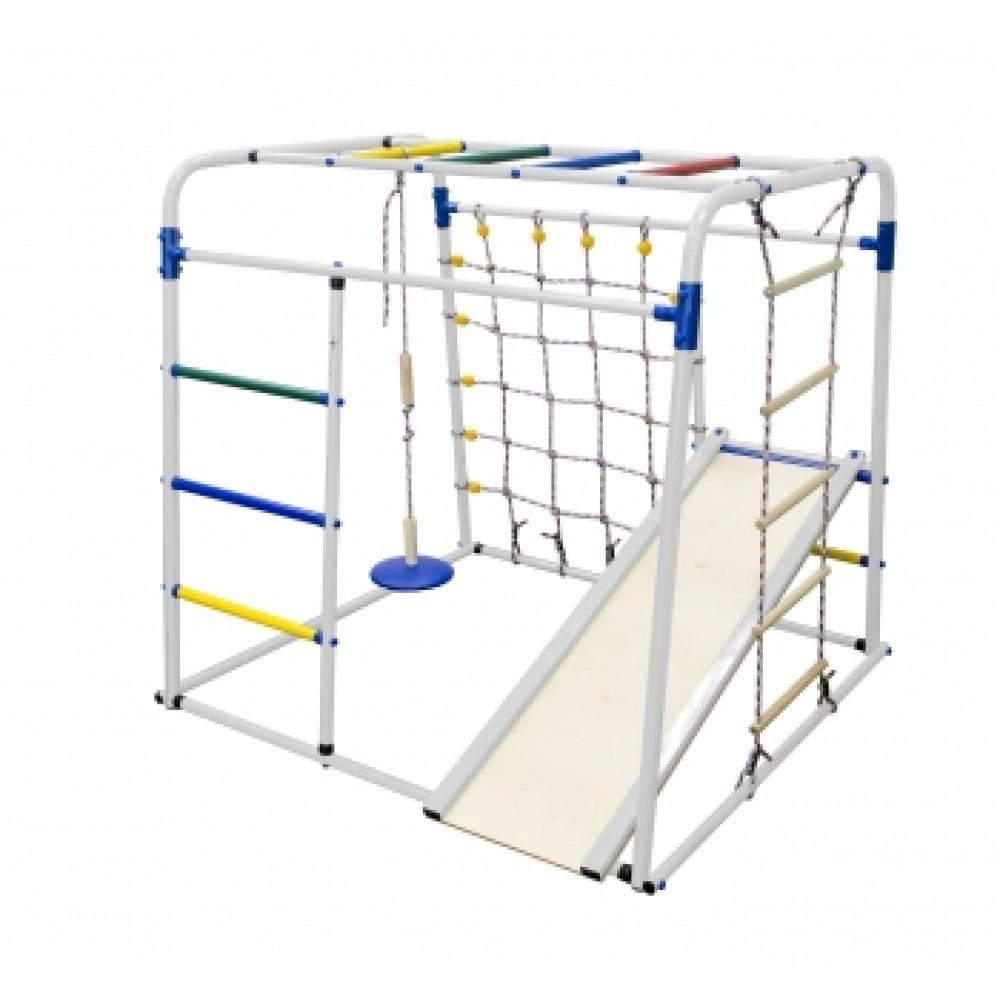 Спортивно-игровой комплекс Формула здоровья Start baby 1 Плюс белый/радуга
