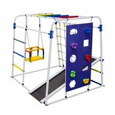 Спортивно-игровой комплекс Формула здоровья Start baby 2 Плюс белый/радуга