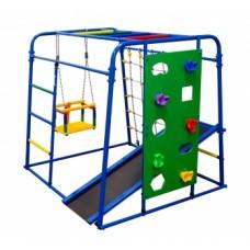 Спортивно-игровой комплекс Формула здоровья Start baby 2 Плюс синий/радуга