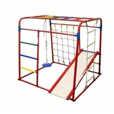 Спортивно-игровой комплекс Формула здоровья Start baby 1 Плюс красный/радуга