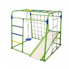 Спортивно-игровой комплекс Формула здоровья Start baby 1 Плюс салатовый/радуга