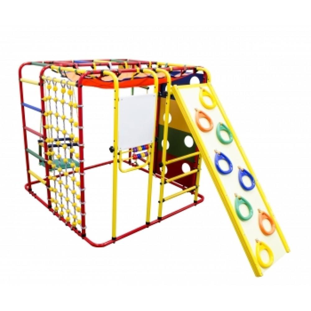 Спортивно-игровой комплекс Формула здоровья Кубик У Плюс красный/радуга