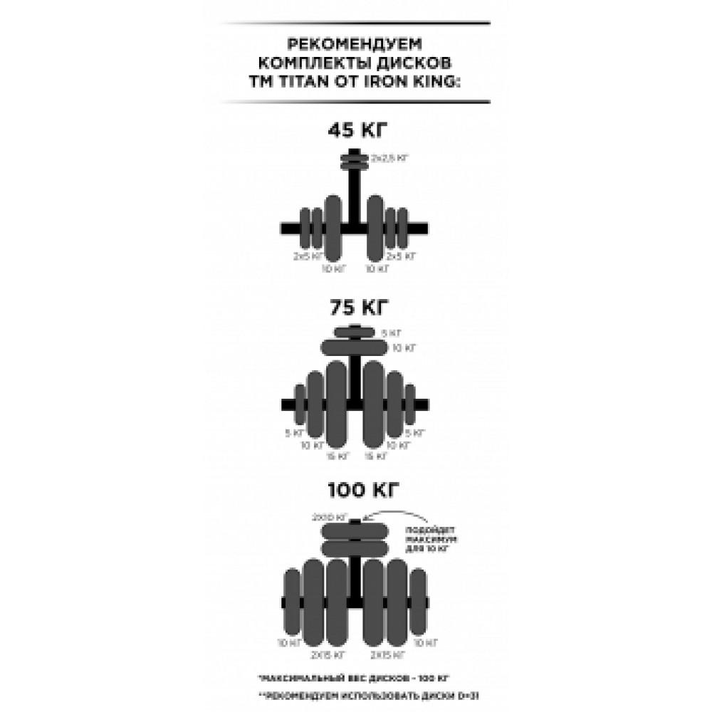 Спортивный комплекс Формула здоровья Flexter Крафт SystemLight белый/чёрный