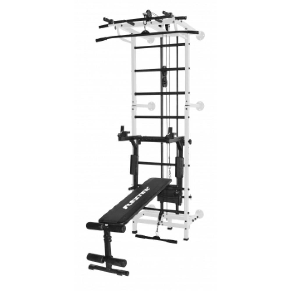Спортивный комплекс Формула здоровья Flexter Крафт SystemLight 3 в 1 белый/чёрный