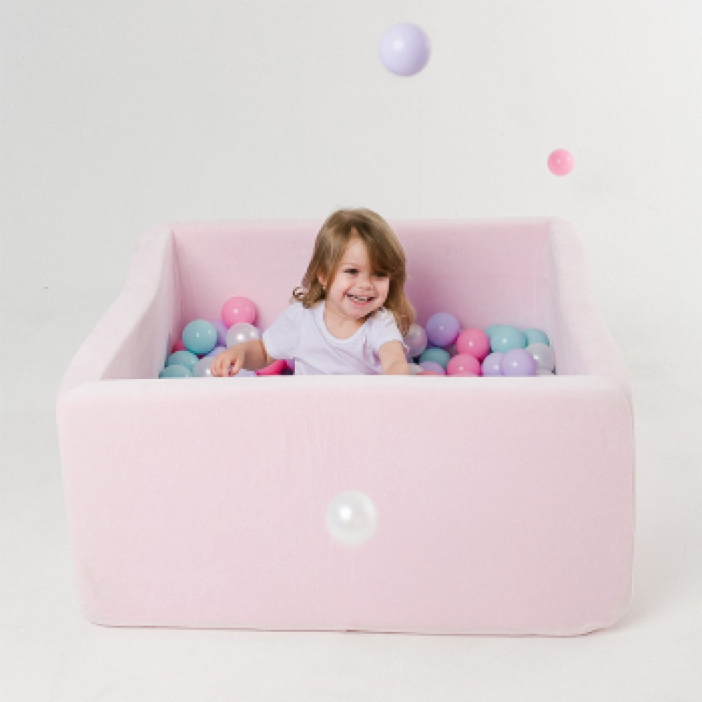 Сухой бассейн Romana Airpool Box ДМФ-МК-02.55.01 розовый