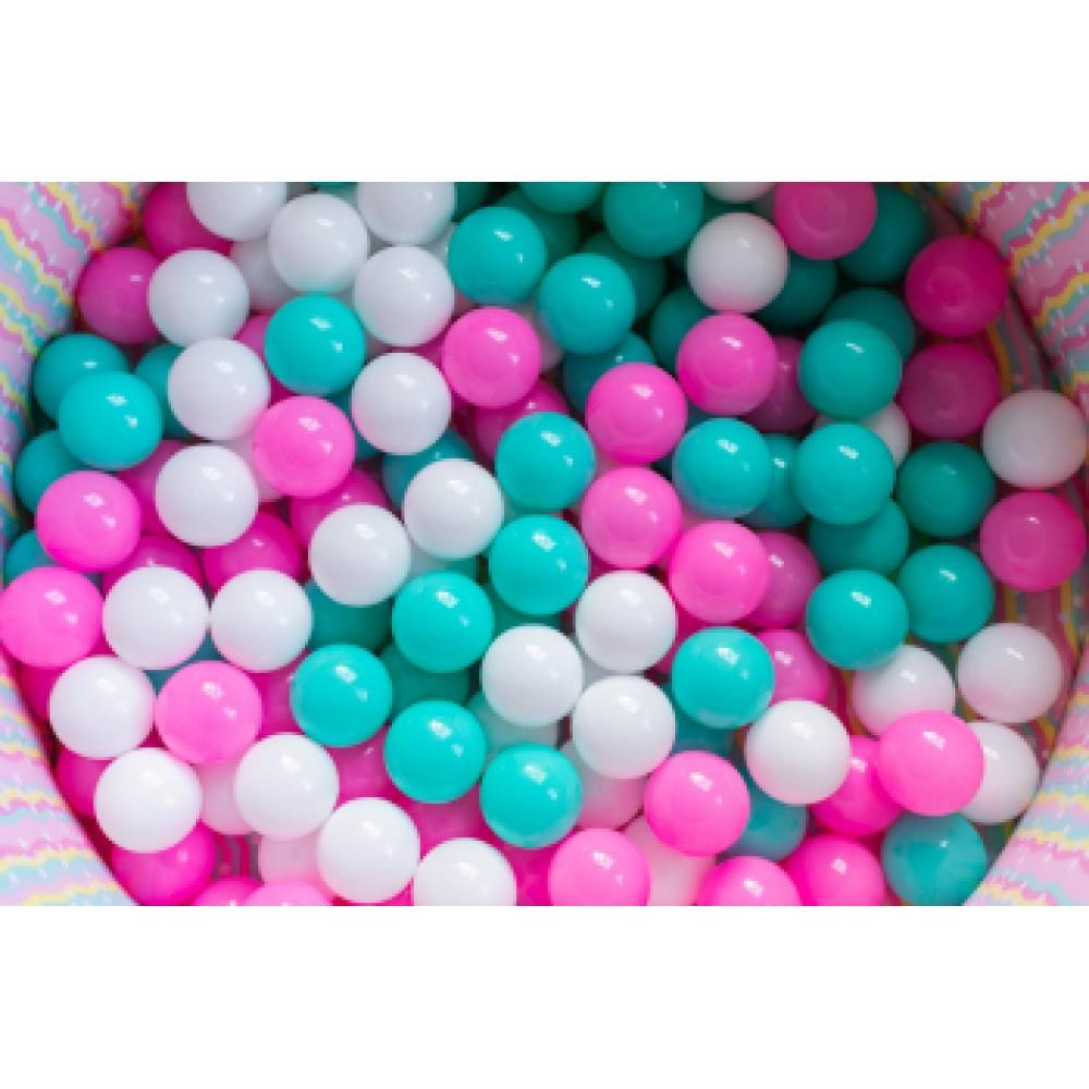 Комплект шариков 7 см/100 шт PS-533