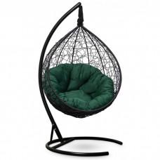Подвесное кресло-кокон Sevilla Verde черный/зеленый
