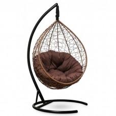 Подвесное кресло-кокон Sevilla Verde горячий шоколад/коричневый