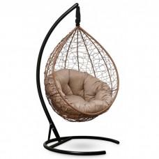 Подвесное кресло-кокон Sevilla Verde горячий шоколад/бежевый