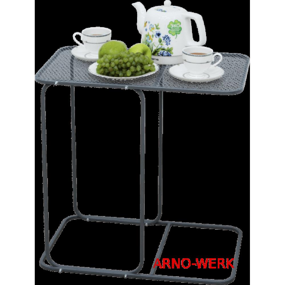 Беседка качели Arno Werk Премиум со столиком (бежевая)
