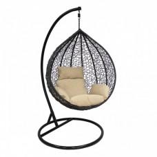 Подвесное кресло LESET ALTAR  черное