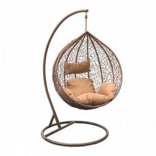 Подвесное кресло LESET ALTAR коричневое