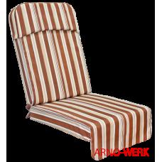 Подушка-кресло для 4-х местных качелей Монарх ШОКОЛАД