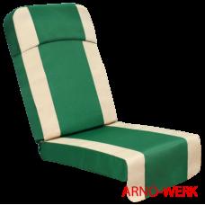 Подушка-кресло для 4-х местных качелей Эдем Люкс 76 Зеленый
