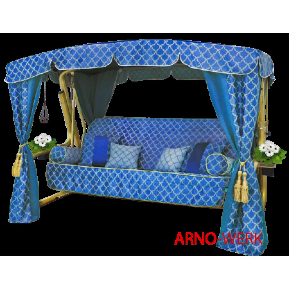 Садовые качели Arno Werk Княгиня синяя
