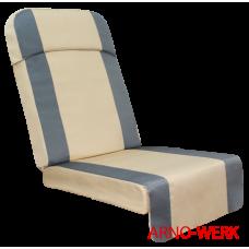 Подушка-кресло для 4-х местных качелей Беседка Премиум бежевый