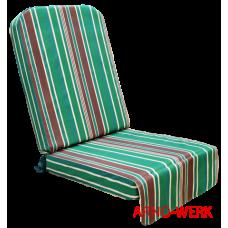 Подушка-кресло для 4-х местных качелей Элит Люкс Плюс Зеленый