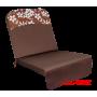 Подушка-кресло для 3-х местных качелей Элегант Премиум ШОКОЛАД
