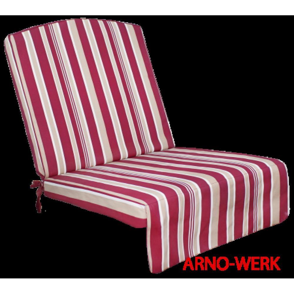 Подушка-кресло для 3-х местных качелей Оазис Люкс бордо