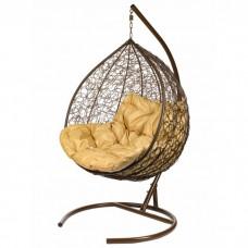 Двойное подвесное кресло BiGarden Gemini brown