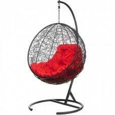 Подвесное кресло BiGarden Kokos Black (красная подушка)
