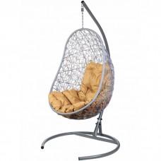 Подвесное кресло BiGarden Easy Gray ( подушка бежевая)