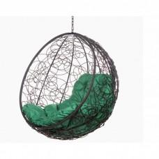Подвесное кресло BiGarden Kokos Black BS без стойки (зеленая подушка)