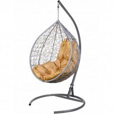 Подвесное кресло BiGarden Tropica Gray (подушка бежевая)