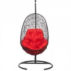 Подвесное кресло Easy красная подушка