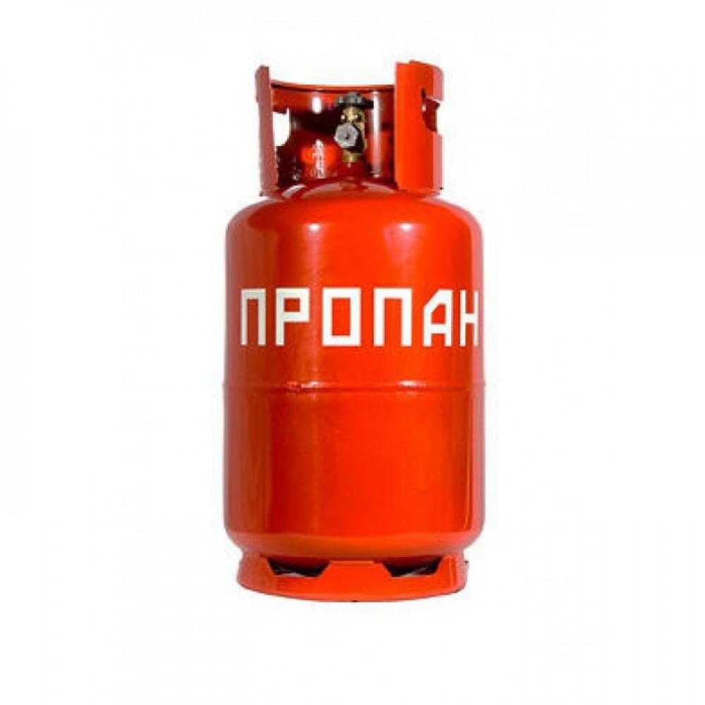 Газовый баллон Пропан 12 л с клапаном