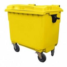Контейнер для мусора пластиковый 660 л зеленый, Иран