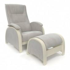 Кресло-глайдер BALANCE 2 дуб шампань/ Verona Light Grey