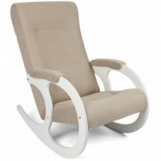 Кресло-качалка Бастион 3 (united 3) Белые ноги