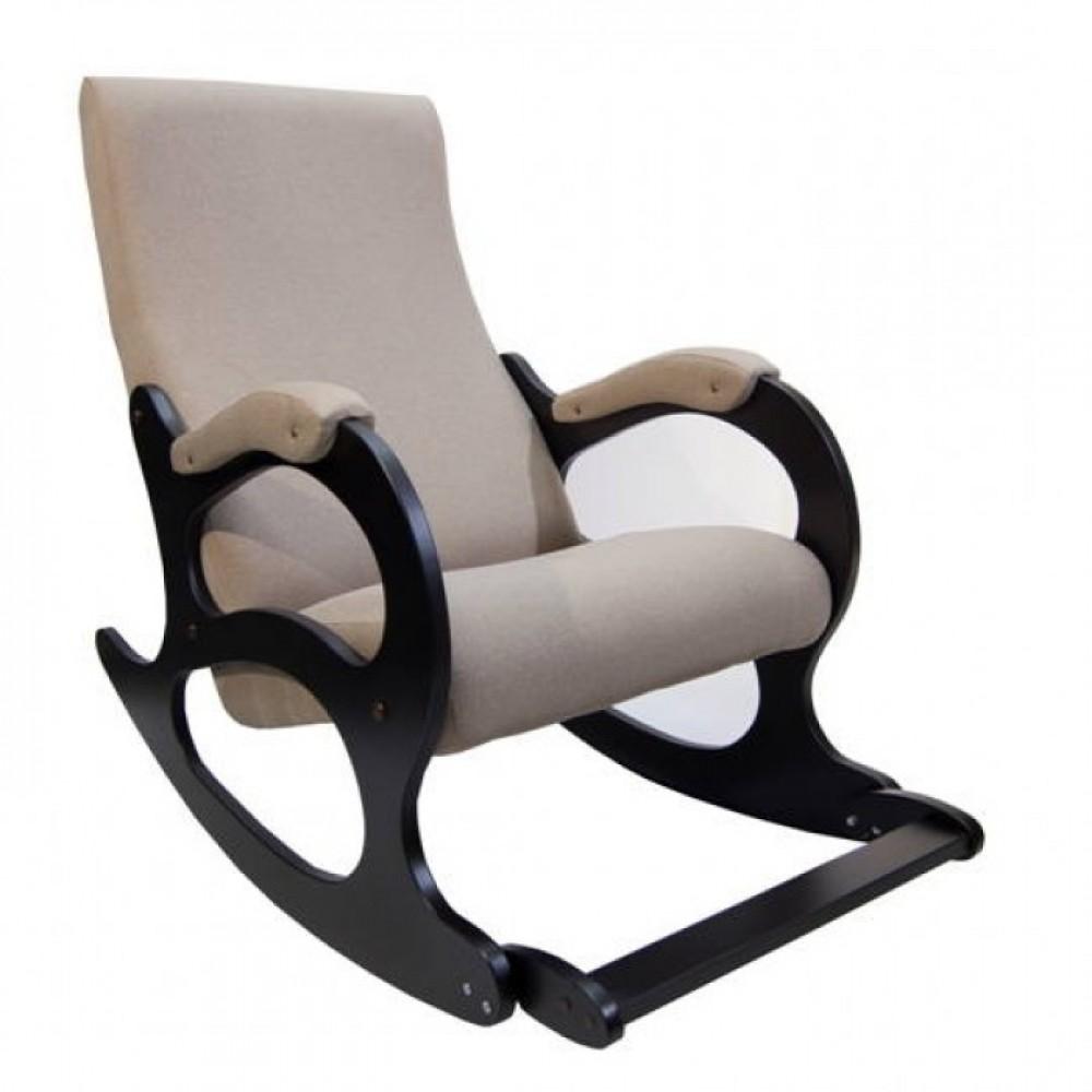Кресло-качалка Бастион №4-2 с подножкой рогожка (UNITED 3)