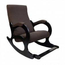 Кресло-качалка Бастион №4-2 с подножкой рогожка (UNITED 8)