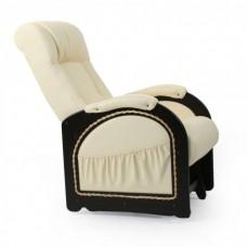 Кресло глайдер Комфорт Модель 48 венге с лозой/ Oregon 120