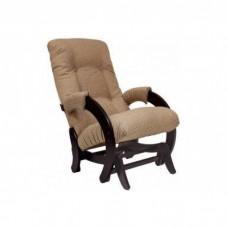 Кресло глайдер Комфорт Модель 68 венге/ Malta 03 А