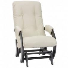 Кресло глайдер Комфорт Модель 68 венге/ Polaris Beige