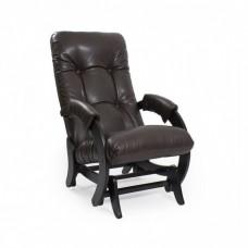 Кресло глайдер Комфорт Модель 68 венге/ Vegas Lite Amber